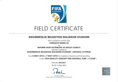 fifa certificate, reform fifa certificate,