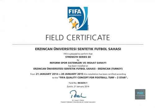 fifa certificate, fifa sertifikası,