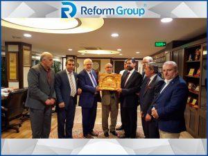 reform grup ürdün, ürdün ziyareti